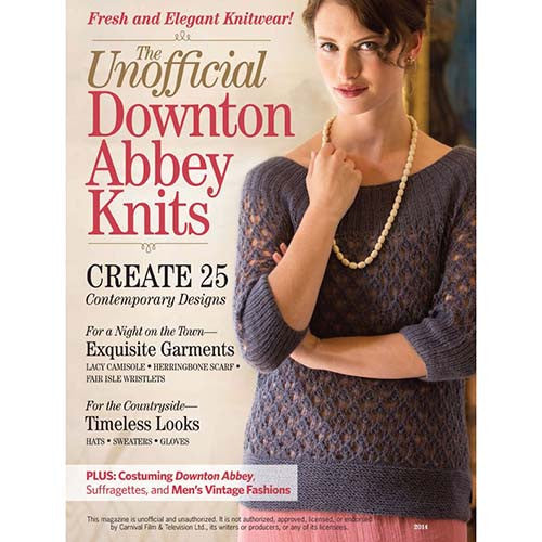 FW Media - The  Unofficial Downton Abbey Knits - 2014 -  - Yarning for Ewe