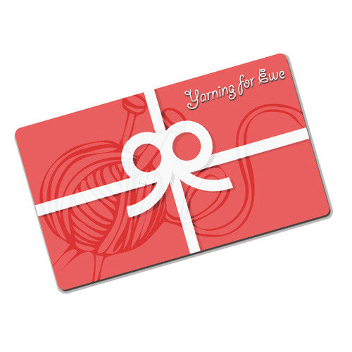 Yarning for Ewe - Gift Card -  - Yarning for Ewe