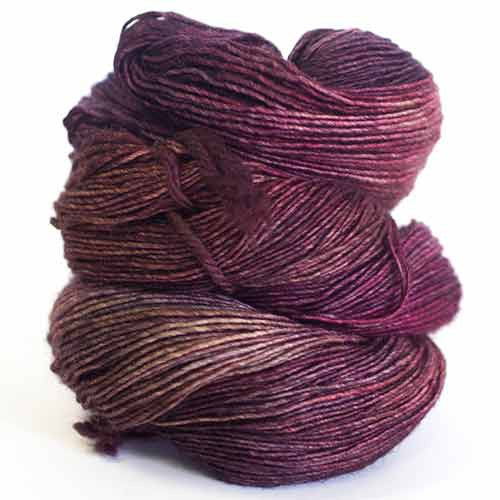 Dream in Color - Jilly with Cashmere - 748 Pinot - Yarning for Ewe - 4