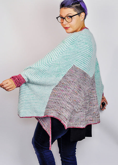 Melted Shrug by Sosu Knits Kit
