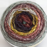Freia Fine Handpaints - Freia Flux Fingering - Metalearth - Yarning for Ewe - 2