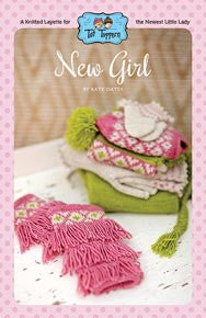 NNK Press - Tot Toppers New Girl by Kate Oates -  - Yarning for Ewe