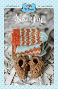 NNK Press - Tot Toppers New Guy by Kate Oates -  - Yarning for Ewe