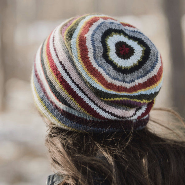 Blue Sky Fibers 21 Color Slouch Hat Kit Yarning For Ewe