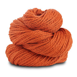 Blue Sky Alpacas - Worsted Cotton - 622 Pumpkin - Yarning for Ewe - 16