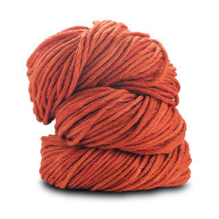 Blue Sky Alpacas - Worsted Hand Dyes - 2010 Rusty Orange - Yarning for Ewe - 14