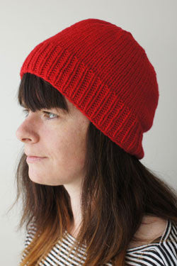 NNK Press - Knitbot Simple Hat by Hannah Fettig -  - Yarning for Ewe