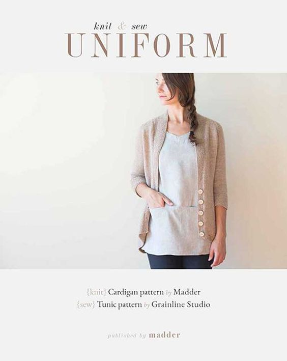 Uniform - Knit and Sew by Madder and Grainline Studios