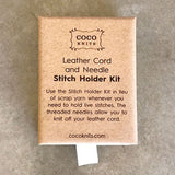 Cocoknits Leather Cord and Stitch Holder Kit