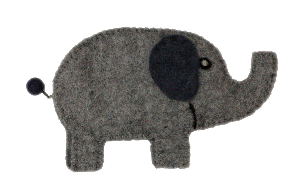 Frabjous Fibers and Wonderland Yarns - Elephant Bag - Grey - Yarning for Ewe - 4