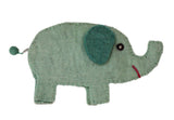 Frabjous Fibers and Wonderland Yarns - Elephant Bag - Sage Green - Yarning for Ewe - 5