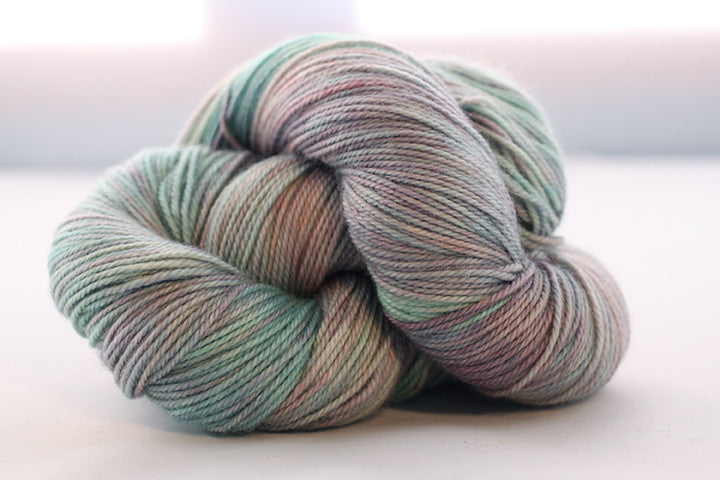 Dream in Color - Classy with Cashmere Worsted - Flashy Mint - Yarning for Ewe - 5