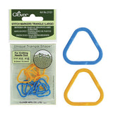 Clover - Triangle Stitch Markers - LG - Yarning for Ewe - 1