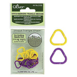 Clover - Triangle Stitch Markers - M - Yarning for Ewe - 2