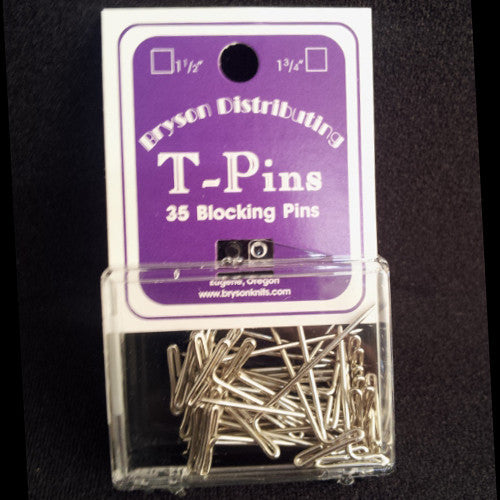 Bryson - T-Pins -  - Yarning for Ewe