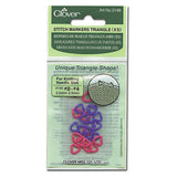Clover - Triangle Stitch Markers -  - Yarning for Ewe - 5
