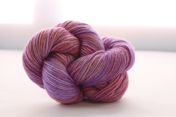 Dream in Color - Classy with Cashmere Worsted - Wisterious - Yarning for Ewe - 2