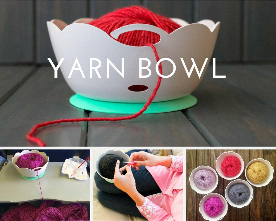 Yarn Valet Yarn Bowl