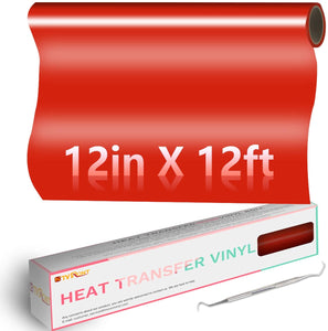 "Limited Offer /   Heat Transfer Vinyl Roll: 12"" x 12ft( Please read the details carefully )"
