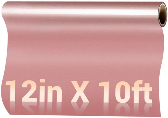 Limited Offer /  Rose Gold HTV Vinyl Roll - 12in x10ft ( Please read the details carefully )