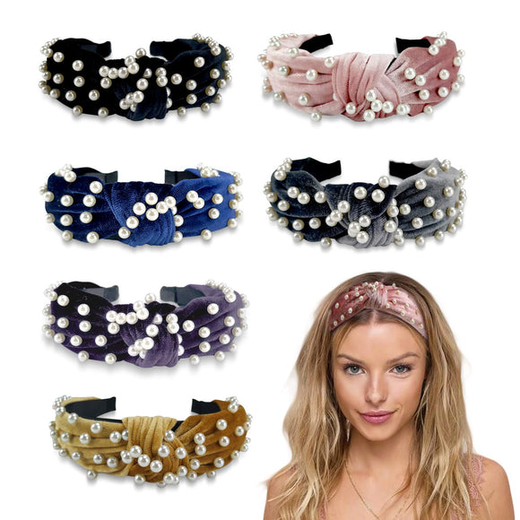 Limited Offer / Pearl Headband for Women - 6 Pack ( Please read the details carefully )