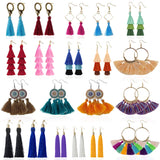 Limited Offer / Tassel Earrings for Women - 20 Pairs ( Please read the details carefully )