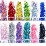 Limited Offer / Holographic Chunky Glitter - 12 Color  ( Please read the details carefully )