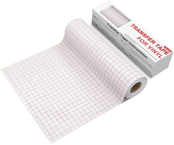 Limited Offer / Clear Vinyl Transfer Paper Tape Roll-12 x 50 FT ( Please read the details carefully )