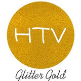 "Iron on vinyl/ glitter htv roll: 10""x 50 ft"