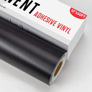 "Limited Offer /Black Adhesive htv Vinyl Roll - 12"" x 50 FT( Please read the details carefully )"