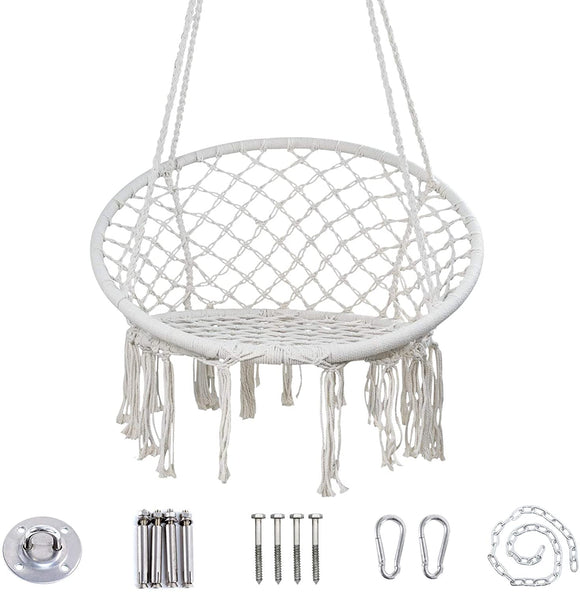 Limited Offer / Macrame Swing Hammock Chair ( Please read the details carefully )