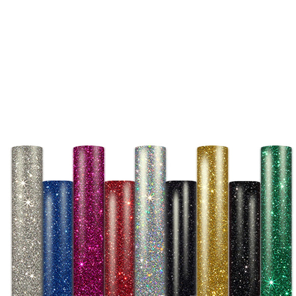 Iron on vinyl/ glitter htv roll: 10