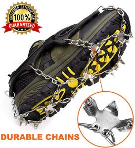 Limited Offer / Crampons Ice Cleats for Shoes ( Please read the details carefully )