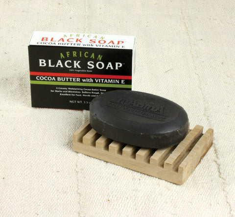 African Black Soap w Vitamin E
