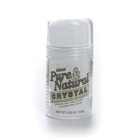 African Pure & Natural Crystal Deodorant 4.25 oz