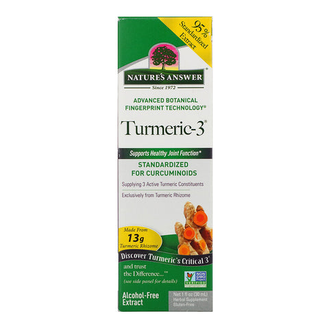 Nature's Answer Turmeric-3