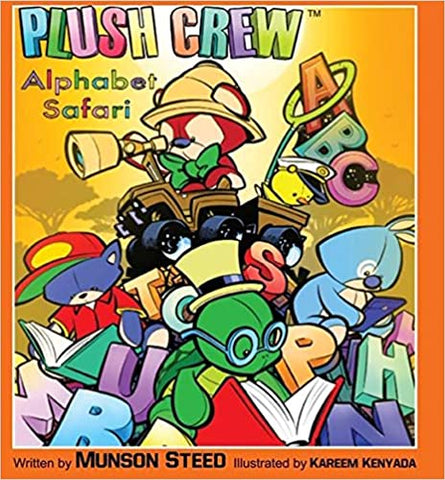 PLUSH CREW ALPHABET SAFARI