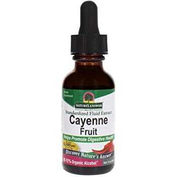 Natures Answer Cayenne Fruit