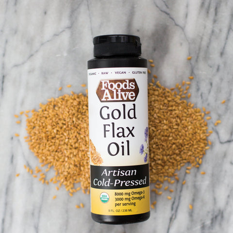 Foods Alive - Gold Flax Oil