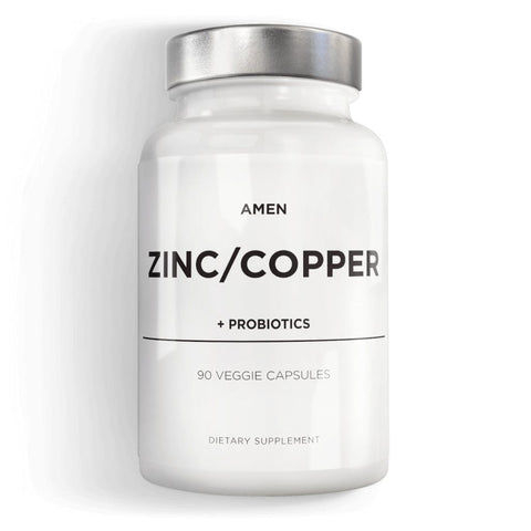 Codeage Amen Zinc Copper with Probiotics