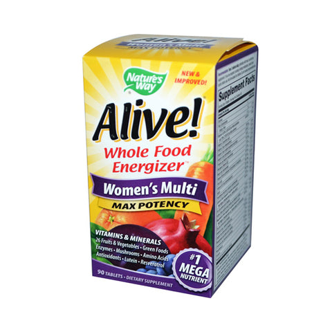Alive Women's MAX Daily Multivitamin
