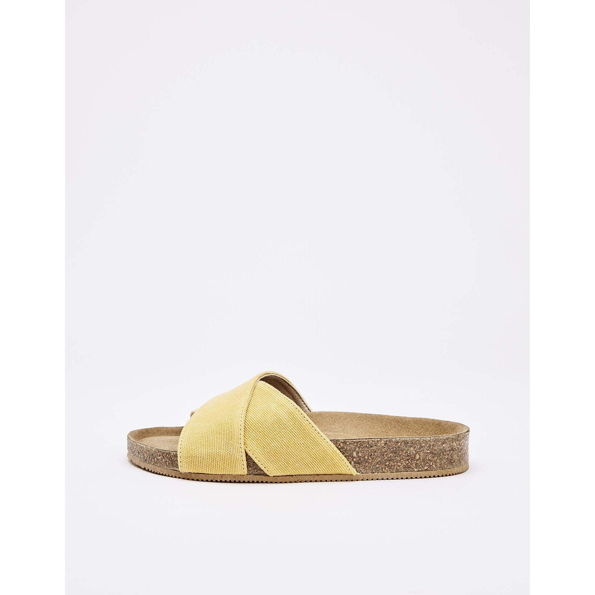 Sandale Cross Slide Clota - Honey Canvas