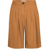 Shorts Petra - rubber brown