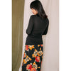 Slip Skirt - blumenprint