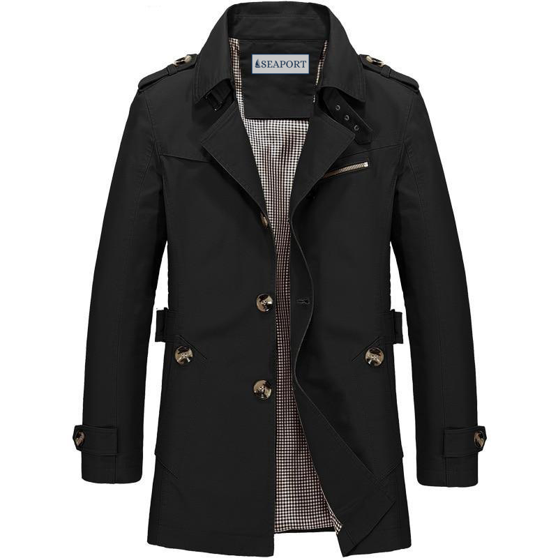 LEEWARD COTTON TRENCH COAT
