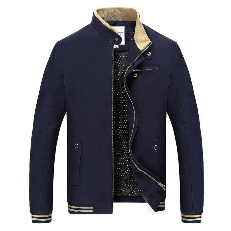 NAUTICAL POLYESTER BOMBER JACKET