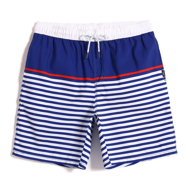 SUMMER 1992 STRIPED SWIM TRUNKS