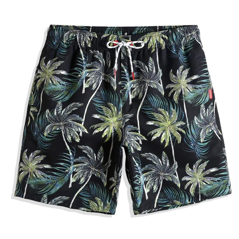 WEST SHORE PALM TREES SWIM TRUNKS