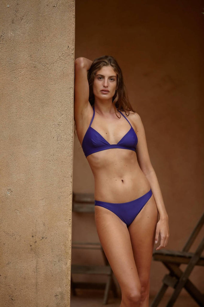 Yasmin in Deep Blue - Haut