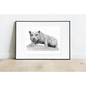 Penn State Nittany Lion Shrine Print